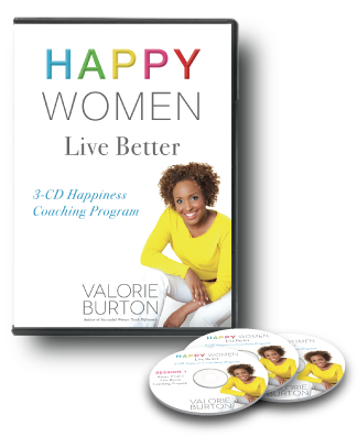 Happy Women Live Better 3-CD Coaching Program